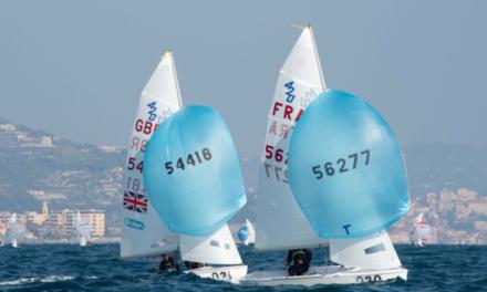 L'équipe des 420 du Pôle en déplacement à San Remo