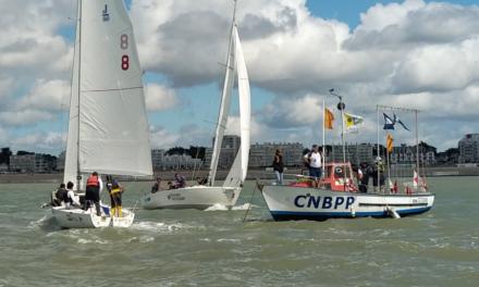 Les Marins de la Lune au Championnat de France Match Racing Open 2020