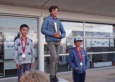 D1 podium opti benjamin garçon
