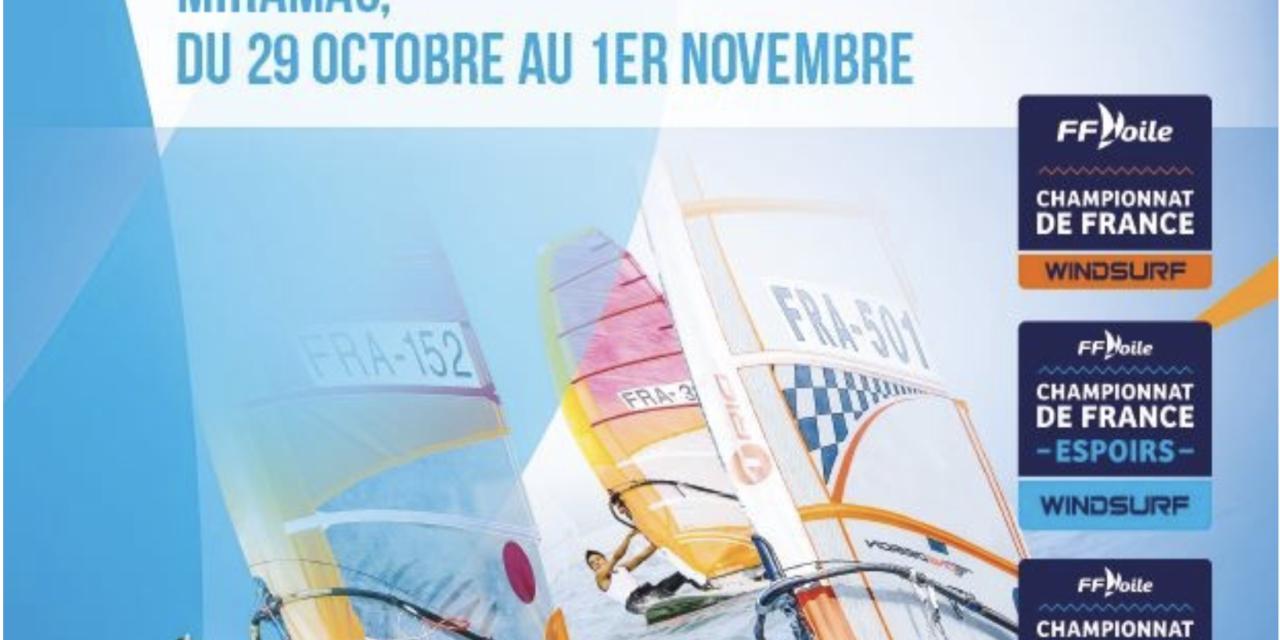 Championnats de France WindSurf Jeunes 2020 : des podiums en planche à voile pour les néo-aquitains !