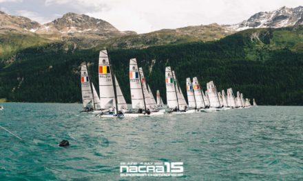 La Nouvelle-Aquitaine sur le podium du Championnat d'Europe Nacra 15