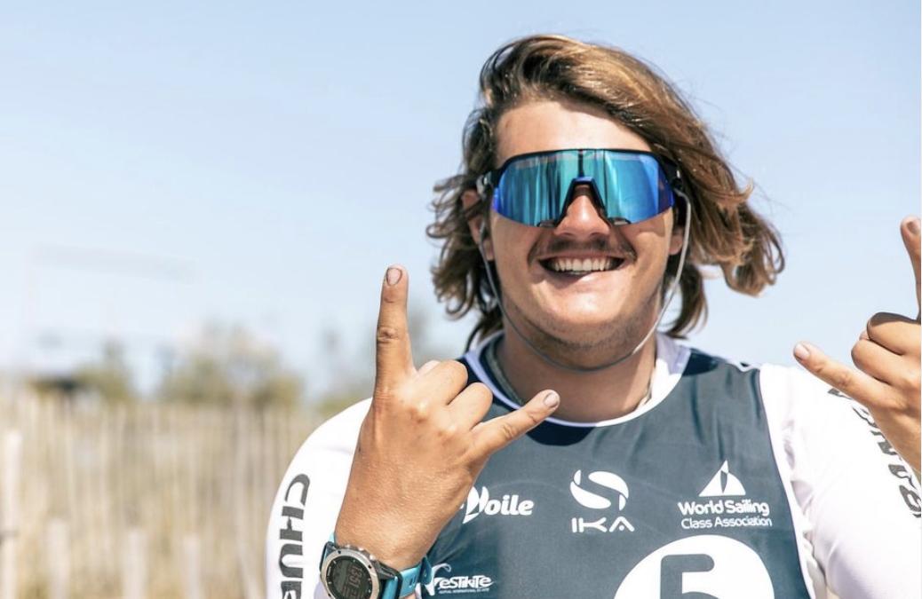 Benoit Gomez vice-champion d'europe de kitefoil