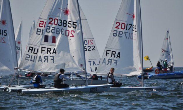Retour sur le Championnat d'Europe LASER Standard des moins de 21 ans