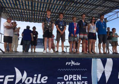 podium Open France