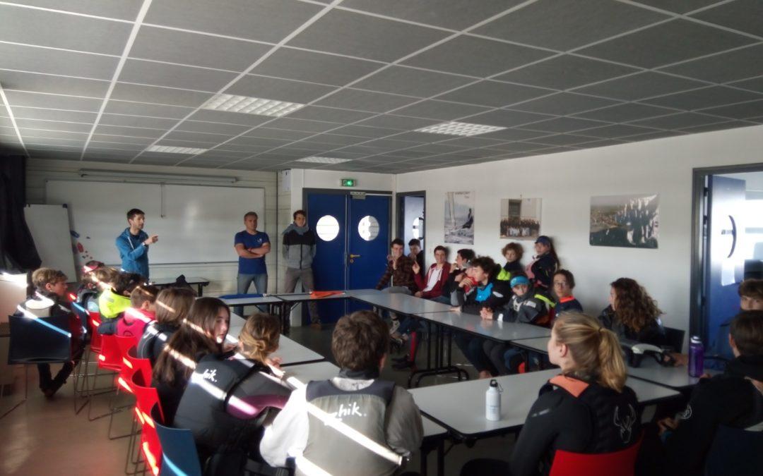 Bilan de la formation Medal Race animée par Mathieu Richard à La Rochelle