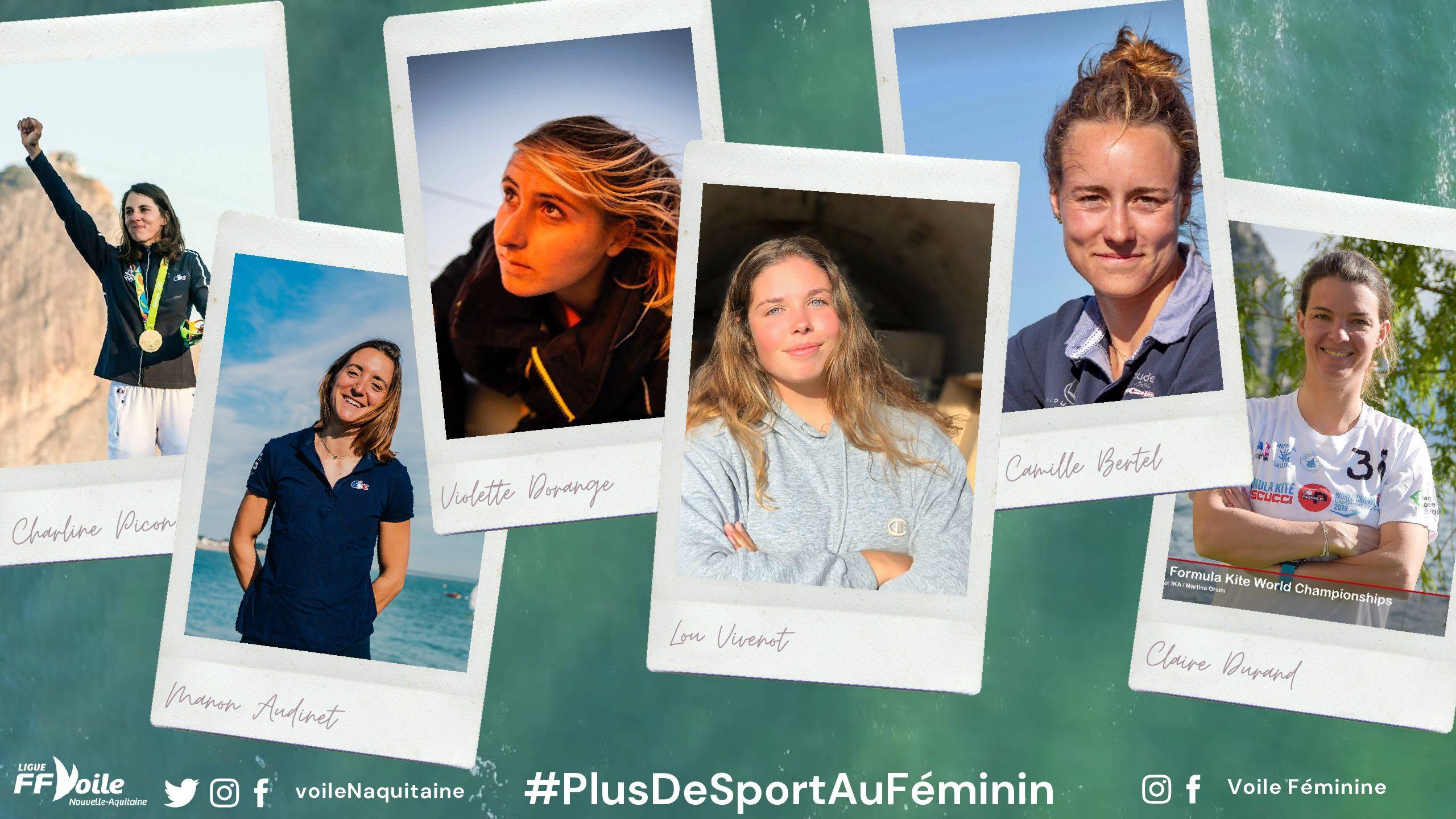 Vous aussi participez à l'opération #PlusDeSportAuFéminin