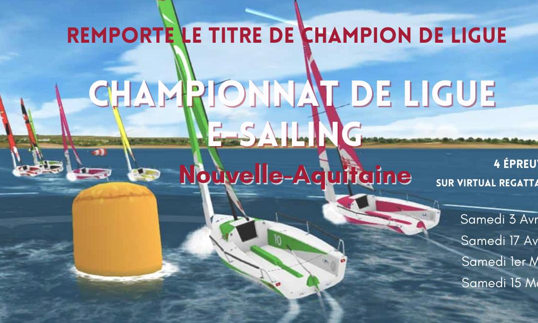 Participez au 1er Championnat de Ligue e-sailing Nouvelle-Aquitaine !