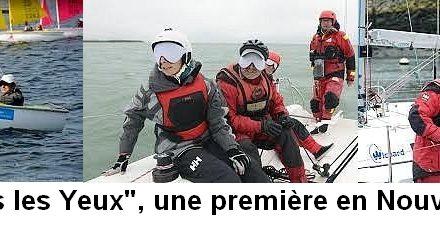 «La voile sans les yeux» en Nouvelle-Aquitaine