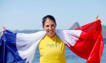 Charline Picon candidate pour etre porte-drapeau à tokyo