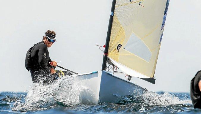 Jonathan Lobert revient à la compétition après un an sans régate