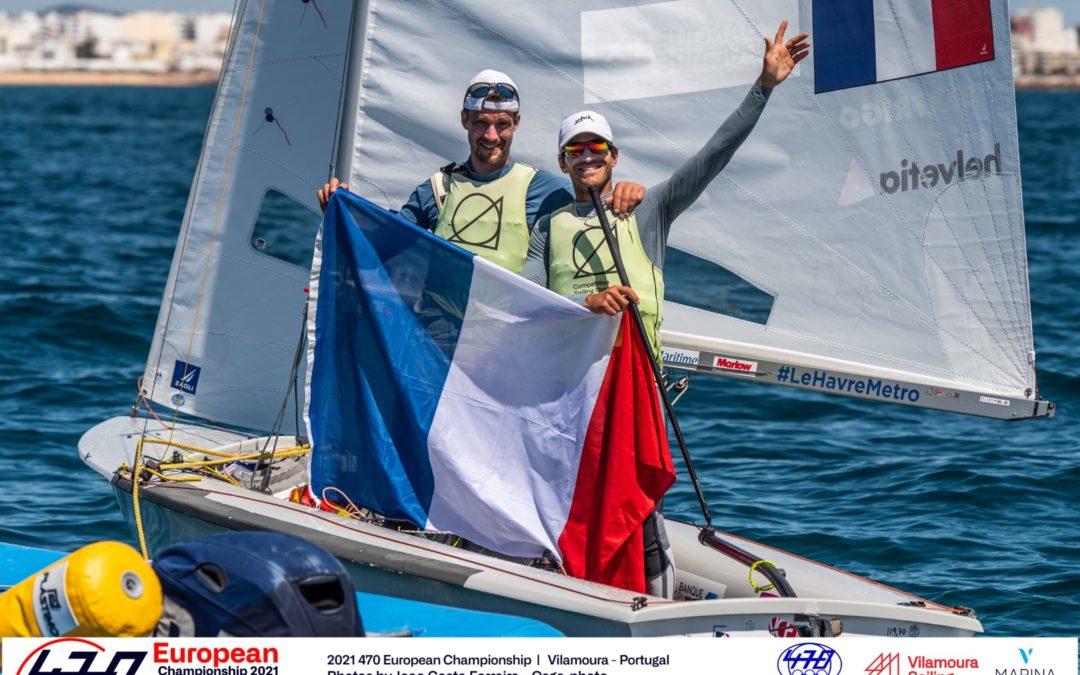 Kévin Peponnet et Jérémie Mion décrochent l'Or au Championnat d'Europe 470 !