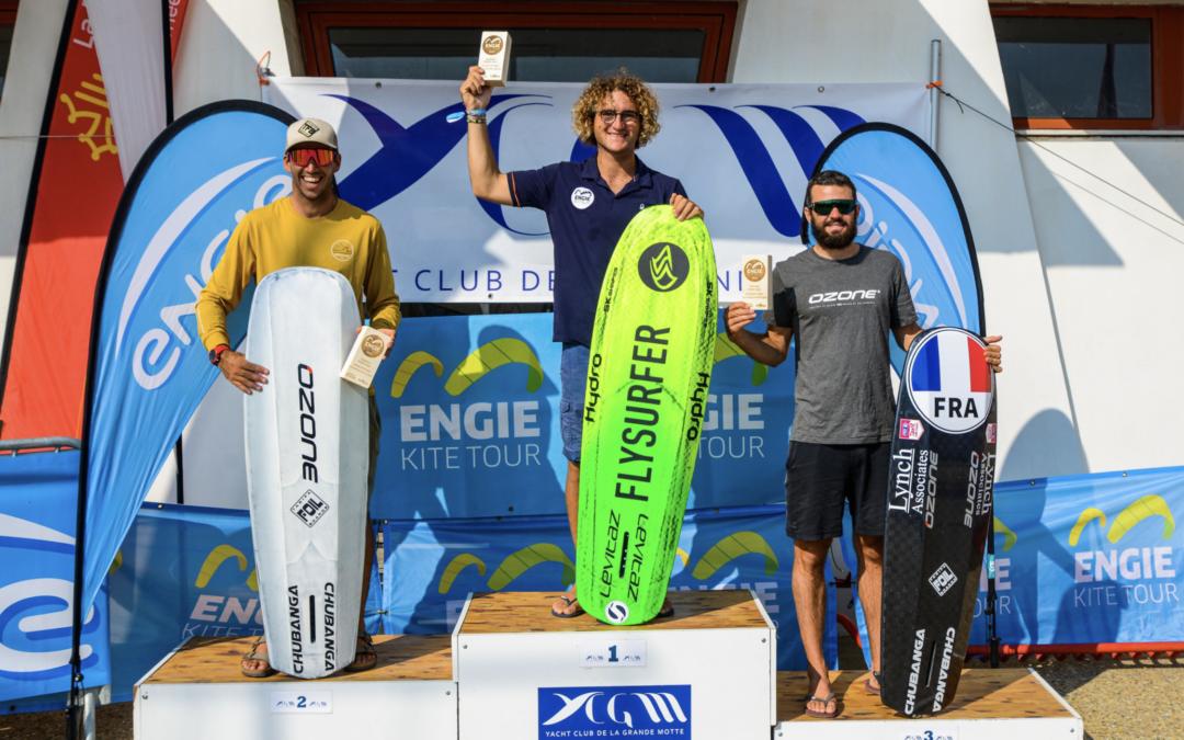 Engie Kite Tour 2021, Nicolas Parlier et Benoît Gomez en bonne voie !