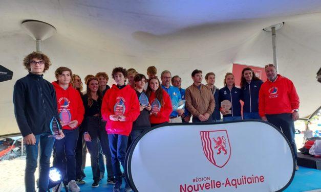 Retour en images de notre cérémonie des champion.ne.s de Nouvelle-Aquitaine du samedi 2 Octobre 2021 au Grand Pavois La Rochelle
